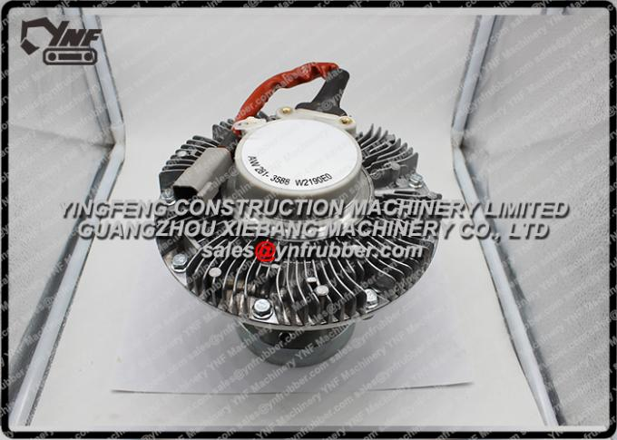 Excavatrice de CAT E320D/E325D de Caterpillar embrayage de Comme-fan d'entraînement de transmission de 2813589/2813588/3240123/3423003 fans